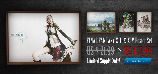 Final Fantasy XIII & XIV Poster Set
