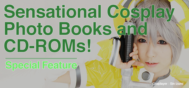 Cosplay Photo Books and CD-ROMs