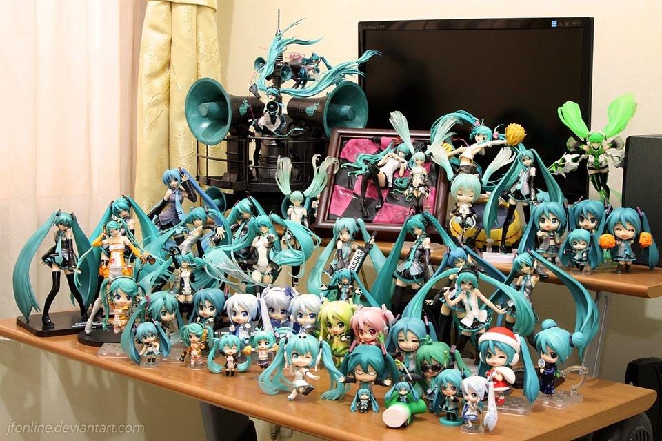 Kaito Chibi Figure My miku collection v4Kaito Chibi Figure