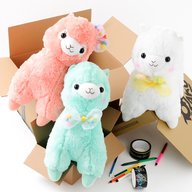 Alpacasso Pop'n Ribbon Plushies (Big)