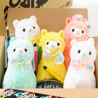 Alpacasso Pop'n Ribbon Plushies (Standard)