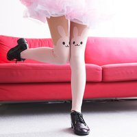 Animal Fake Tights (Rabbit)
