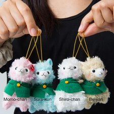 Advance! Alpacasso Corps Plushies (Mini Strap)