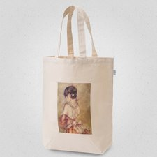 Girl in a Dress Tote Bag