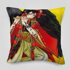 Karasu-Tengu Cushion Cover