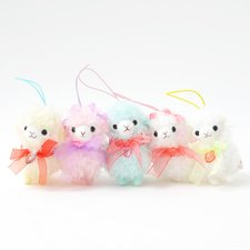 Girly Kids Alpacasso Plushies (Mini Strap)