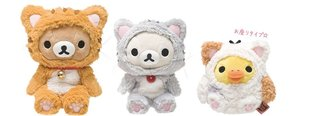 "Rilakkuma Transforms into a Cat! New Product Series ""Nonbiri Neko"" to Release in Early October"
