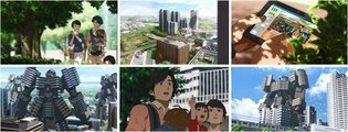 "Transforming Apartments!? Local Superdreadnought Anime ""Cho Kido Gaiku: Kashiwa no Ha"" Begins!"