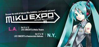 Hatsune Miku Expo to Be Held in the US! NY & LA Fans Rejoice!