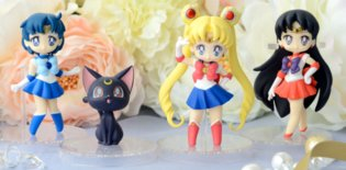 *Sailor Moon* Goods to Release as Arcade Prizes at the End of April