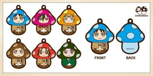 *Attack on Titan* Characters to Become Mushrooms?!