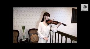 Violin Virtuoso Enthusiastically Performs Anime Songs?!