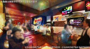 Namco to Open Character-Themed Cafe & Bar, First Work to Be Featured is *Tiger & Bunny*