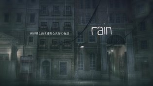 A Game with an Invisible Protagonist: Introducing *Rain* Through a Gameplay Video