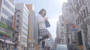 Gigantic Girls Appear on the Metropolitan Streets of Japan in Tokyo Gigantic Girls Project