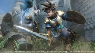 Sept. 1, 2014, Square Enix announced at the SCEJA Press Conference 2014 that they will release a new action RPG game entitled *Dragon Quest Heroes: Yamiryū to Sekai Ki no Shiro* ( *Dragon Quest Heroes: Darkness Dragon & Castle of the World Tree*) on PlayStation 4 in spring 2015.