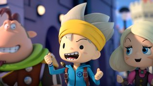 "A Brand New Fantasy World, ""SNACK WORLD""!"