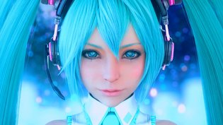 Hatsune Miku is Practically REAL with Square Enix's Graphics Technology!