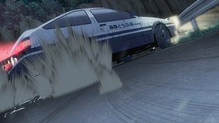 Second 'New Initial D the Movie' Announced Along with Hachi-Roku Drift Scene!
