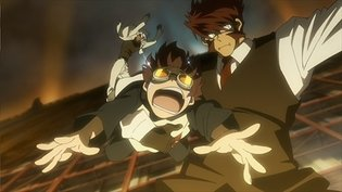 Blood Blockade Battlefront Scene Panel Exhibition to Be Held in Animate's Yokohama and Shinjuku Shops