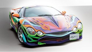 Collaboration Car Between Legendary Super Car Orochi and *Evangelion*! Priced at 16 Million JPY
