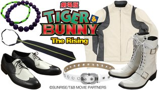Fashionable Items Themed After Kotetsu and Barnaby from Tiger & Bunny: The Rising to Release