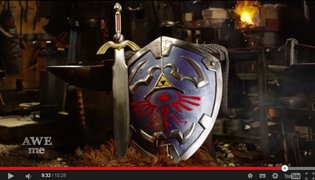 Blacksmith Team Creates Hylian Shield from 'The Legend of Zelda'; Shows off Shield's Impregnable Defensive Power in Test Run