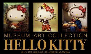 Hello Kitty Collaborates Once More with World-Famous Paintings!