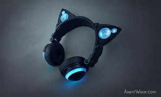 Cool Nekomimi Headphones Are Here! Share Music With Nekomimi Loaded with Speakers!