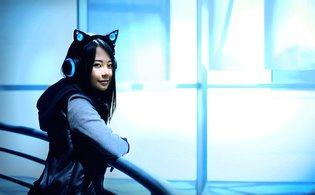 How Adorable! Show Your Support for These Headphones with Cat Ear Speakers and Get Them Quick!