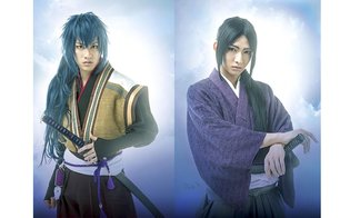 We've Been Waiting So Long!  New Hakuoki Musical Publicity Photos Released!!