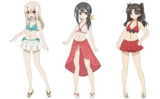 """Prisma Illya 2wei Herz!"" Swimsuit Illustrations Released; Commemorative Event Also Announced"