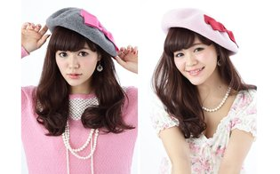 Pre-Orders Begin for Cute Beret Themed After *Cardcaptor Sakura*, Available in Pink and Gray