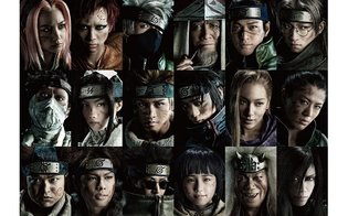 Musical 'Live Spectacle Naruto' with Cast of 18 Members Reveals Powerful New Visuals