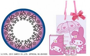 Color Contact Lenses with an All-Too-Cute My Melody Design to Be Released on Oct. 25