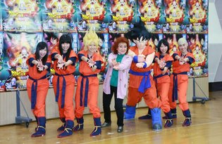 "Momoiro Clover Z Do Character Voice of Angels in the Upcoming Movie ""Dragon Ball Z Fukkatsu no F""!"