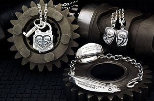 Kenji Kamiyama Collaboration Accessories Round 2 - A Thoughtful Design of Two Skulls Facing Each Other