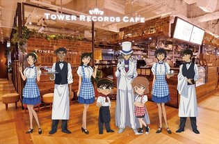 Conan Cafe Shibuya Opens; Offers Original Food Items and Collaboration Merchandise