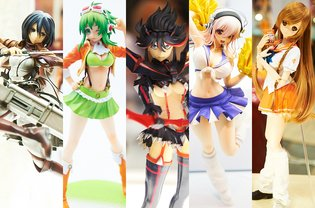 Who Knew Figures Could Be This Cute! Winter Wonder Festival 2014 Photo Report - Cute & Sexy Edition