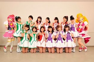 Morning Musume '15 Creates Theme Song to 'PreCure All Stars: Spring Carnival'