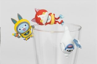 "Is That Jibanyan On the Edge of Your Glass? Check Out These ""Yo-Kai Watch"" Series Cup Toys!"