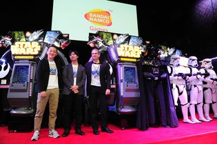 Hot Arcade Shooting Game that Combines a Dome Screen and *Star Wars* - *Star Wars Battle Pod* Announced