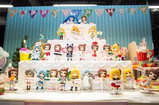 Figure Maker Kotobukiya Holds Event to Celebrate First Anniversary of Cu-Poche Figure Line