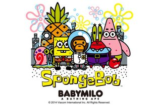 BAPE and SpongeBob Reunite. T-Shirts, iPhone Cases and More
