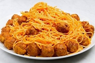 Meatball Spaghetti Eaten by Lupin in Famous Scene in *The Castle of Cagliostro* Becomes a Real Dish