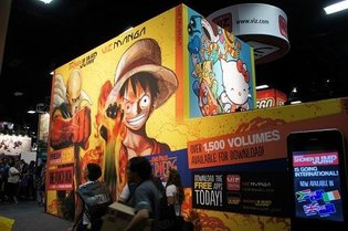 Viz Media Brings Japanese Content to Comic-Con, Stresses Manga, Anime, and Digital Distribution