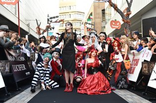"""Anna Tsuchiya × The Evil Within"" Halloween Event Heats Up Shinjuku!"