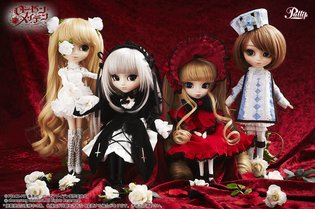 Cute and Elegant! Four Rozen Maiden from the Series *Rozen Maiden* Transform from Antique Dolls into Pullip Dolls?!