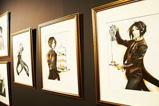 Welcome to the Splendid World of Black Butler - Black Butler Original Artwork Exhibit: The World of Yana Toboso Report