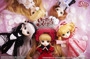 Sixth Doll Hinaichigo Enters the Pullip x *Rozen Maiden* Collaborative Series! Elegant Photos with Other Rozen Maidens!!